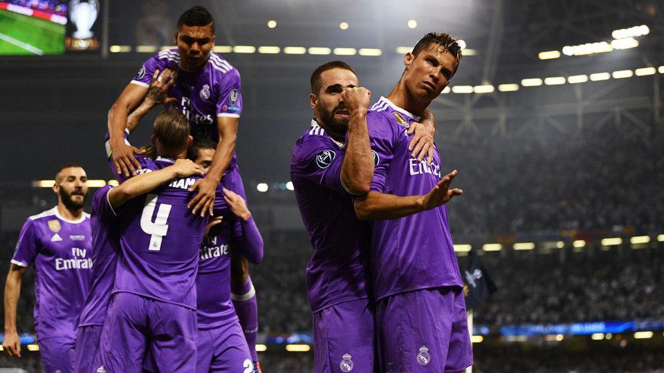 13 футболистов «Реала» претендуют на попадание в сборную сезона-2016/17 по версии  FIFPro/ФИФА