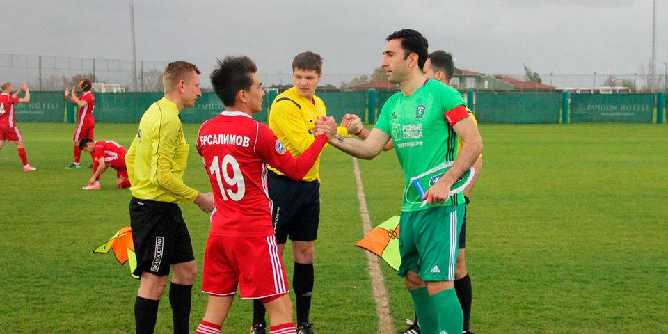 «Томь» уверенно переиграла 10-ю команду Казахстана