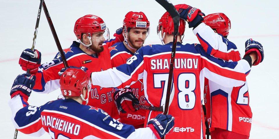 ЦСКА и «Торпедо» показали составы на матч КХЛ