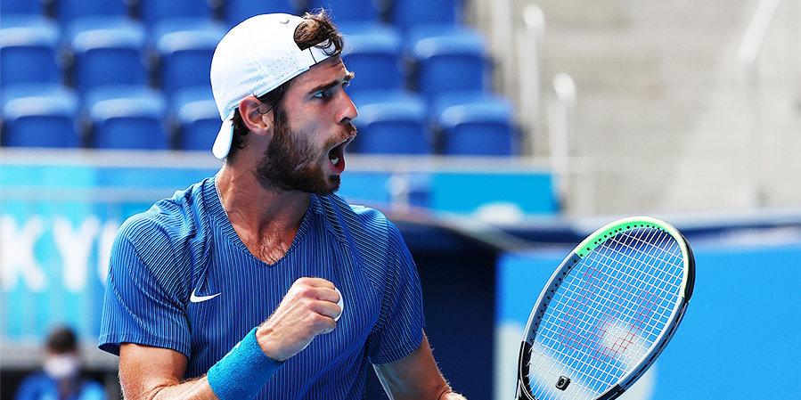 Хачанов вышел во второй круг турнира в Цинциннати