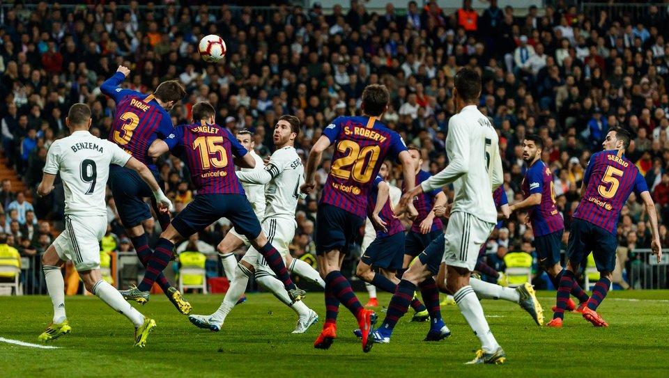 Официально: Матч «Барселона» — «Реал» перенесен