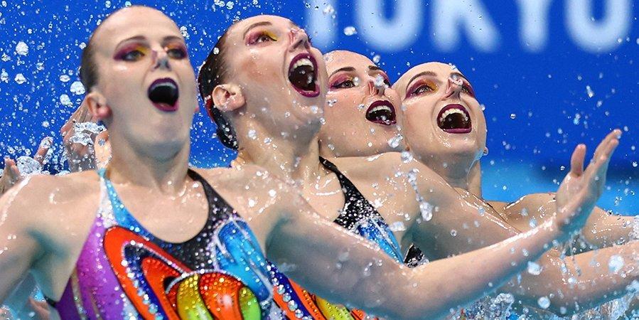 Сборная России выигрывает все золотые награды ОИ в синхронном плавании с 2000 года