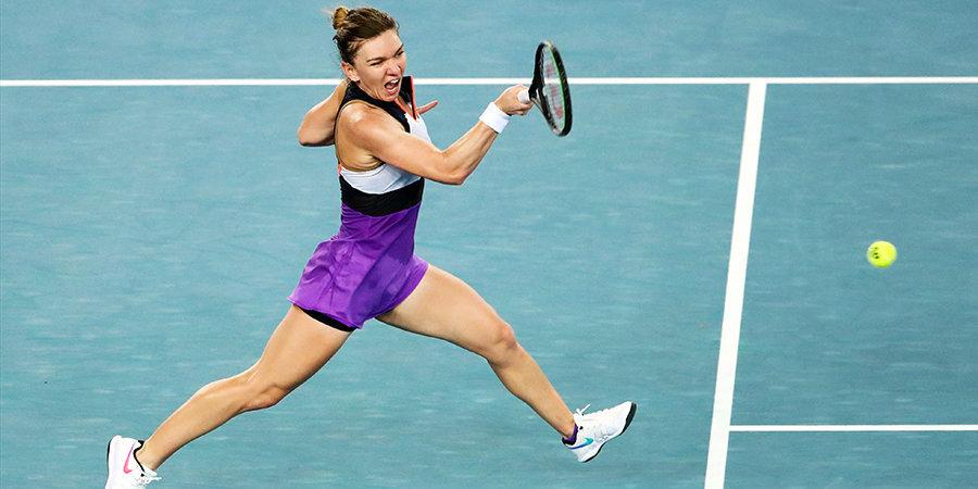Халеп одержала волевую победу на Australian Open и сыграет с Кудерметовой в третьем круге