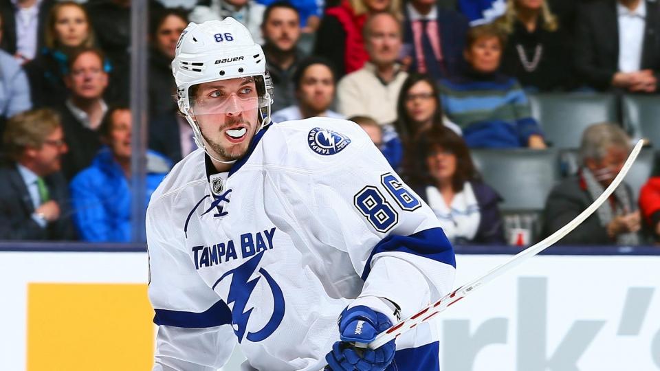 Кучеров обошел Малкина и Овечкина в рейтинге лучших игроков НХЛ