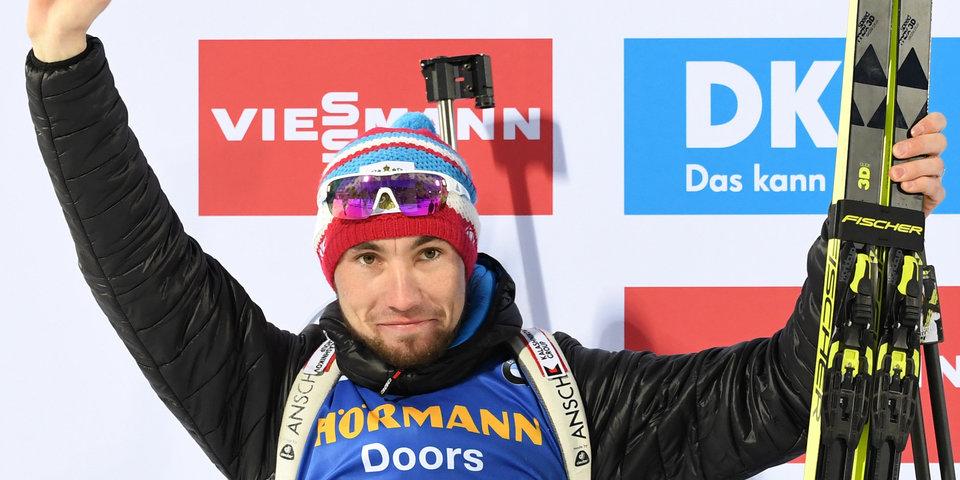 Логинов подписал контракт с Союзом биатлонистов России