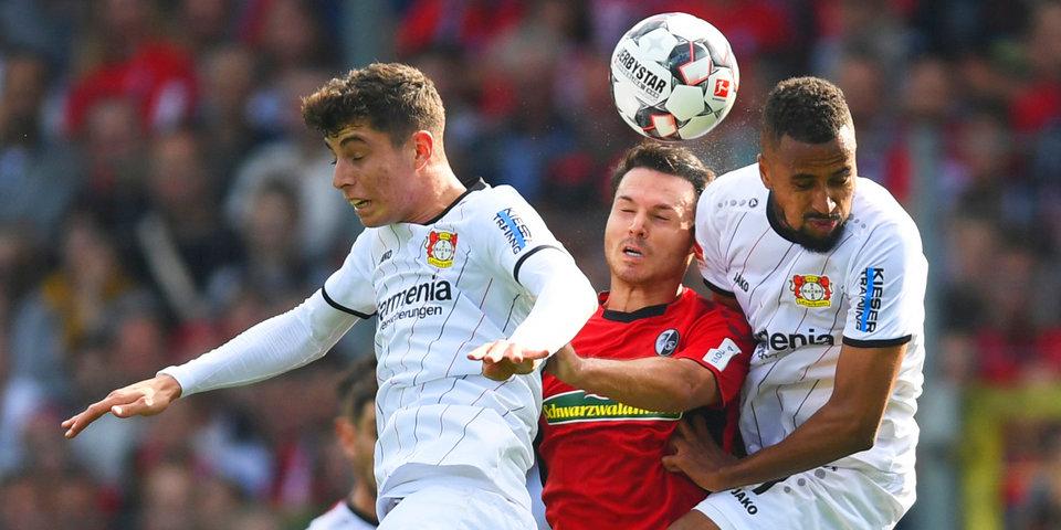 «Фрайбург» и «Байер» обошлись без забитых мячей
