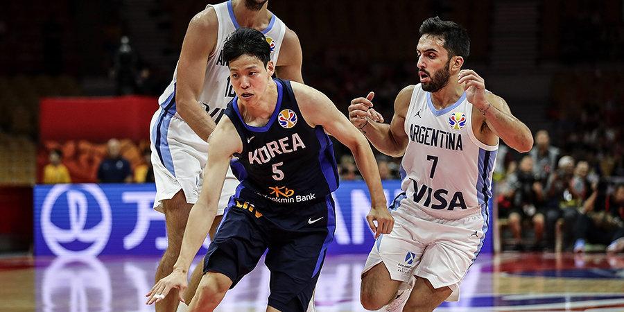 Аргентина уверенно обыграла Корею на старте ЧМ, Испания разгромила Тунис