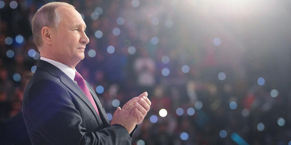 Владимир Путин поздравил сборную России с успешным выступлением на Универсиаде-2019