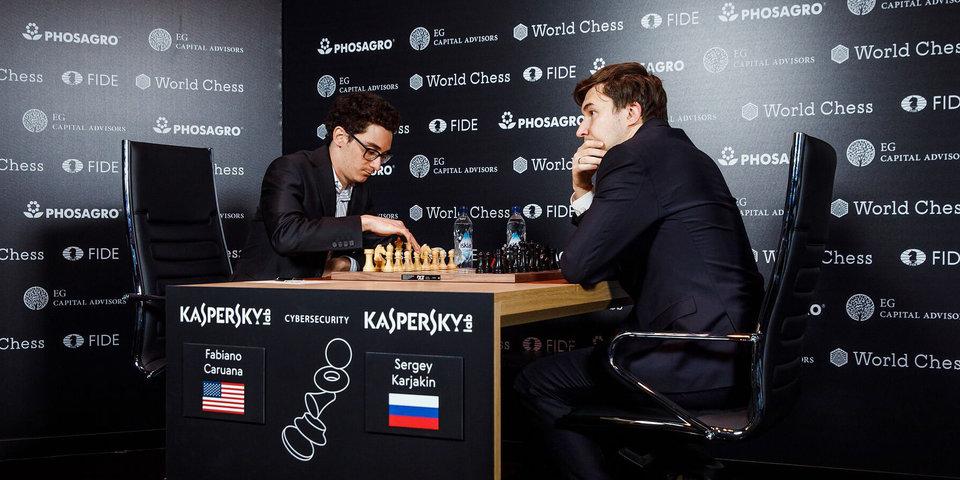 Карякин нанес Каруане первое поражение в Берлине и догнал лидера