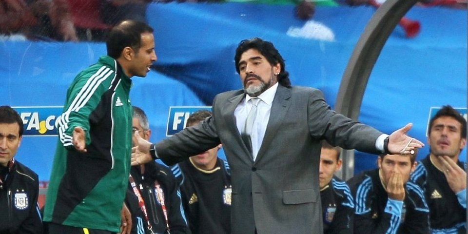 «Буду работать со всей душой и сердцем». Марадона прокомментировал свое назначение тренером «Химнасии»