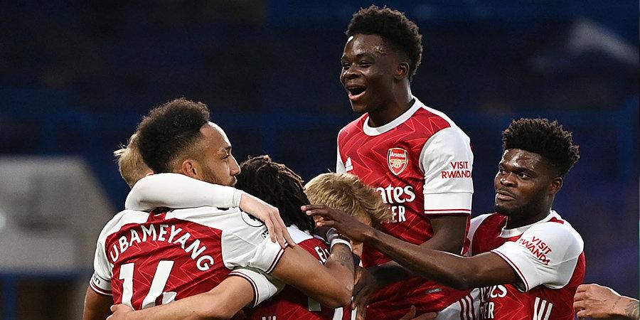 Смит-Роу принес «Арсеналу» победу над «Челси»