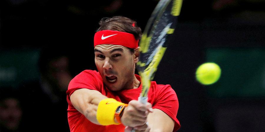 Надаль составил образ идеального теннисиста