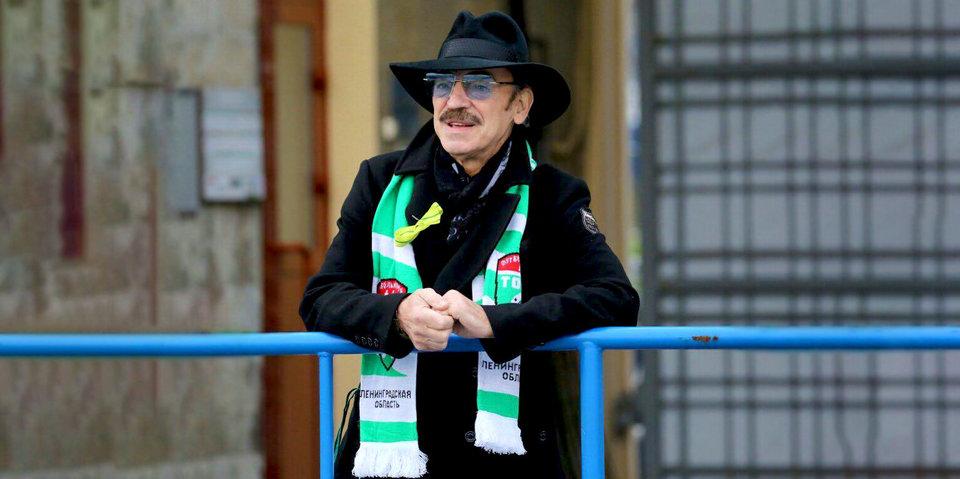 Михаил Боярский сдержал обещание и приехал на стадион болеть за «Тосно»