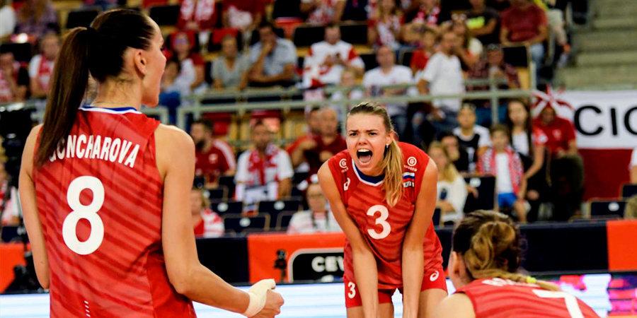 Российские волейболистки победили Корею на Кубке мира