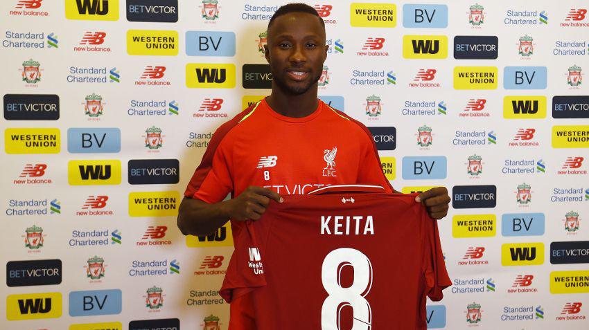 Наби Кейта — игрок «Ливерпуля»