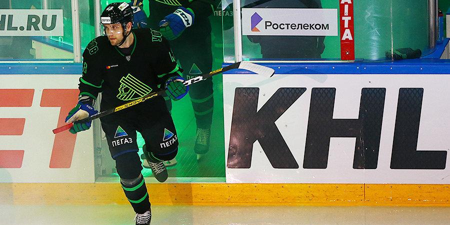 Бирюков первым из хоккеистов провел 800 матчей в КХЛ