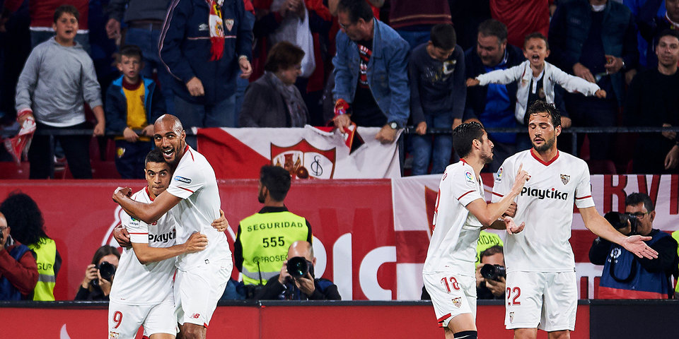 «Севилья» отправила 5 мячей в ворота «Жальгириса»