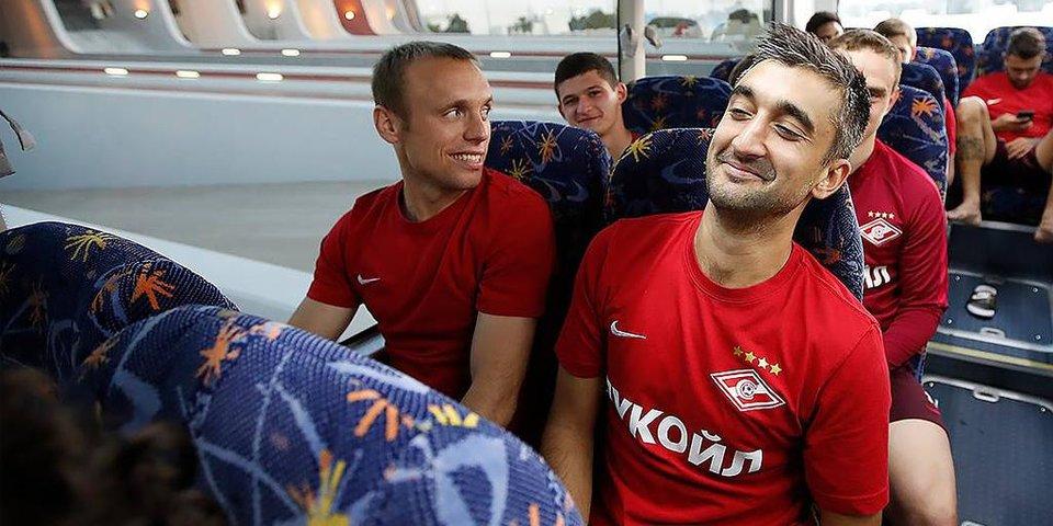 Самедов и Луис Адриано забивают в первой игре за «Спартак»