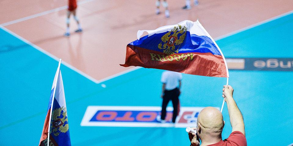 Российские волейболисты потерпели поражение от сборной Бразилии