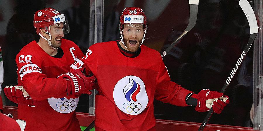 Вячеслав Быков — о победе сборной России над Чехией: «Это придает команде уверенность и хороший настрой»