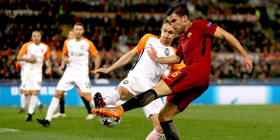 Джеко вывел «Рому» в четвертьфинал Лиги чемпионов