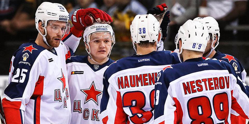 ЦСКА съездил в Австрию и забросил 9 шайб «Словану»