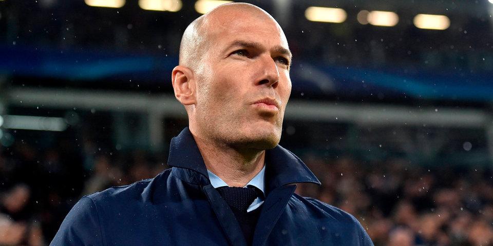 СМИ узнали, в какую сумму обойдется «Реалу» увольнение Зидана