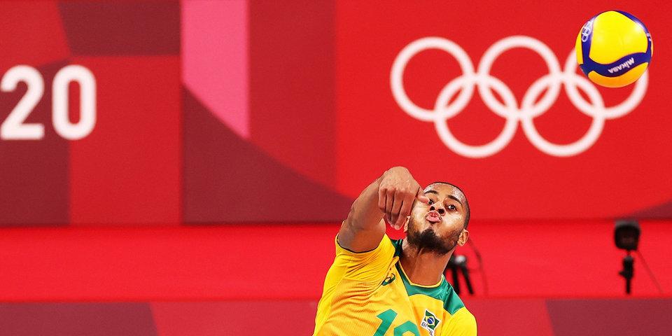 Бразилия стала соперником России по полуфиналу волейбольного турнира в Токио