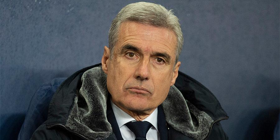 Донецкий «Шахтер» официально объявил об уходе Каштру с поста главного тренера