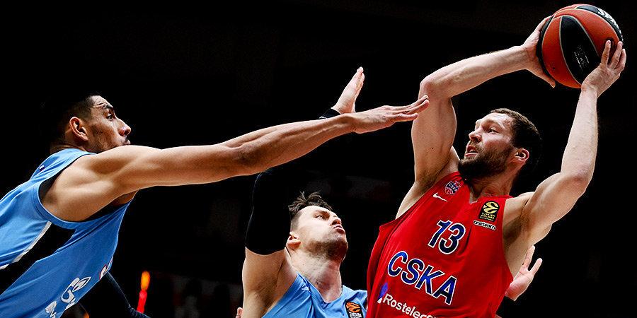 28 очков Холлинса не спасли «Зенит» от поражения в матче с ЦСКА