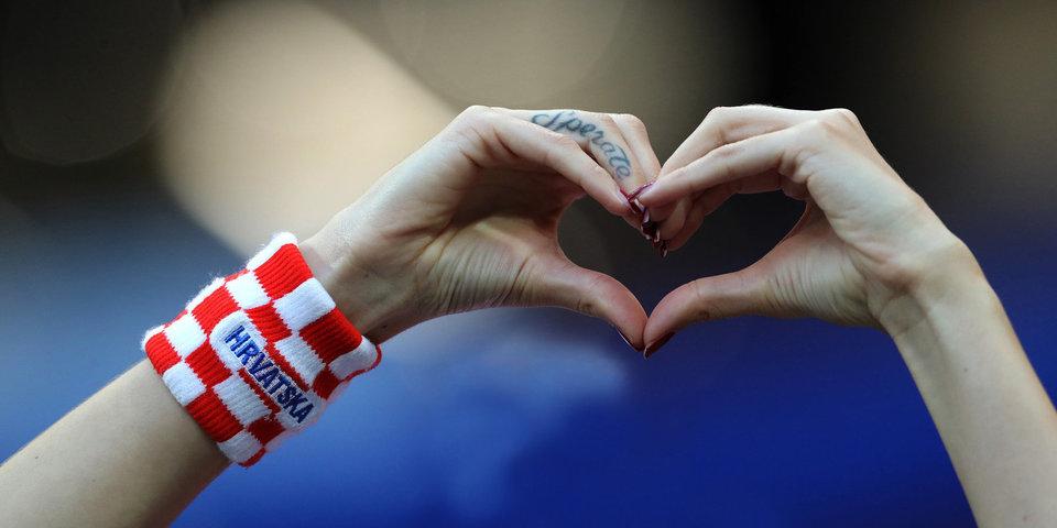 Как Хорватия выходила в финал. Фото с подробностями
