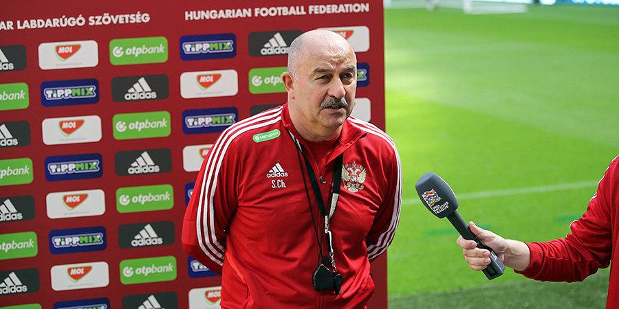 Черчесов не стал связывать с усталостью выступление российских клубов в еврокубках
