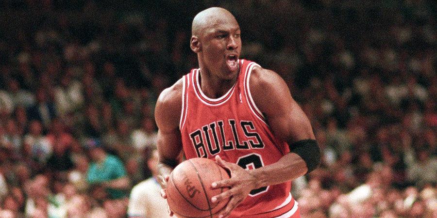 СМИ признали Джордана лучшим игроком в истории НБА
