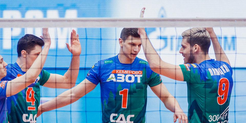 «Кузбасс» обыграл «Енисей» и продлил победную серию в Суперлиге до шести матчей