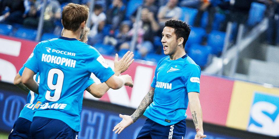 Кокорин и Дриусси – в старте «Зенита» на матч Лиги Европы против «Утрехта»