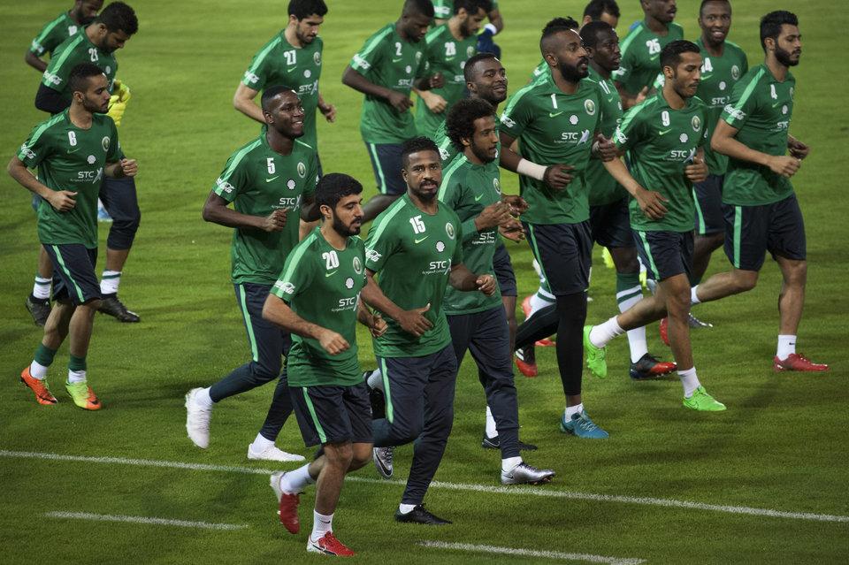 Сборная Саудовской Аравии прилетела в Москву на матч открытия ЧМ-2018