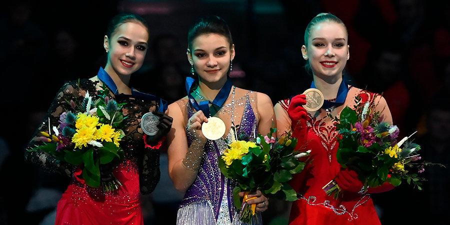 Бурлеск, шик,  блеск: Самодурова стала чемпионкой Европы. Загитова — вторая