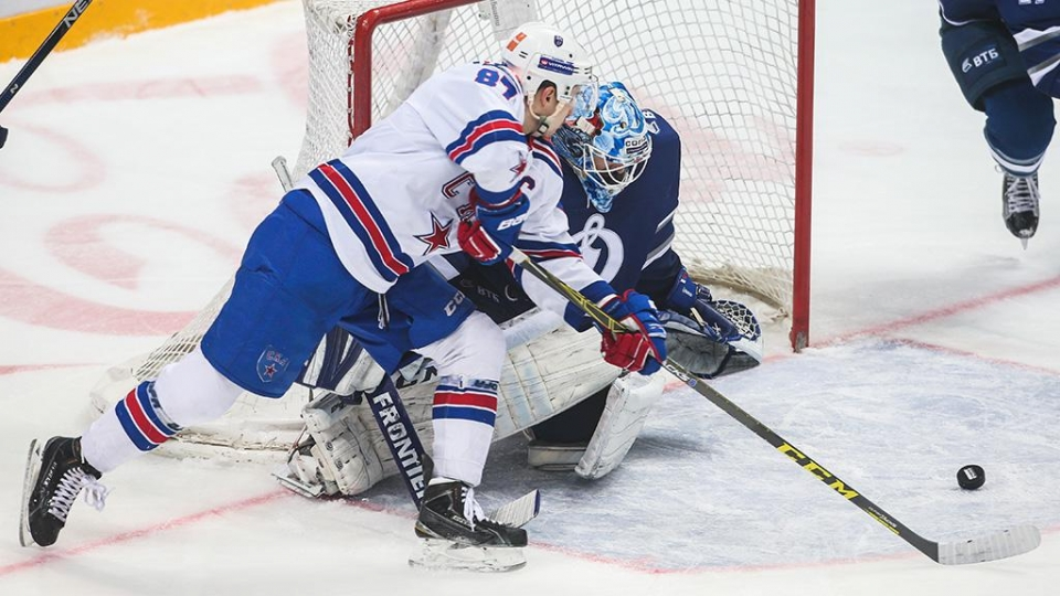 СКА в овертайме уступил «Динамо» в первом матче 1/4 финала Кубка Гагарина