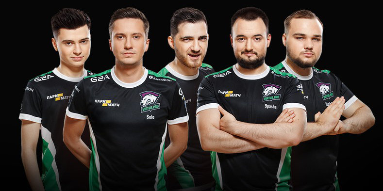 Virtus.pro с победы стартовали на The International 8