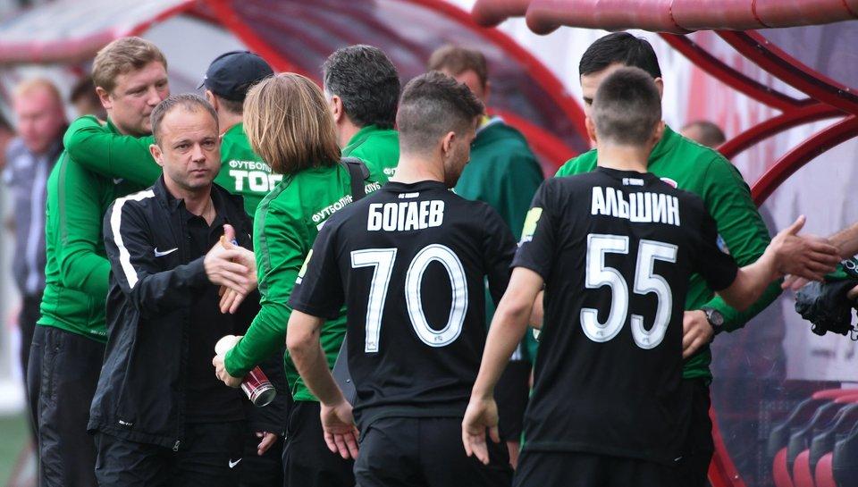 Дмитрий Парфенов: «Горжусь игроками «Тосно», для меня они – самые лучшие»