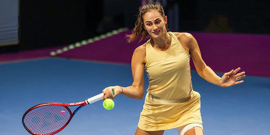 Гасанова пробилась в четвертьфинал турнира в Казахстане