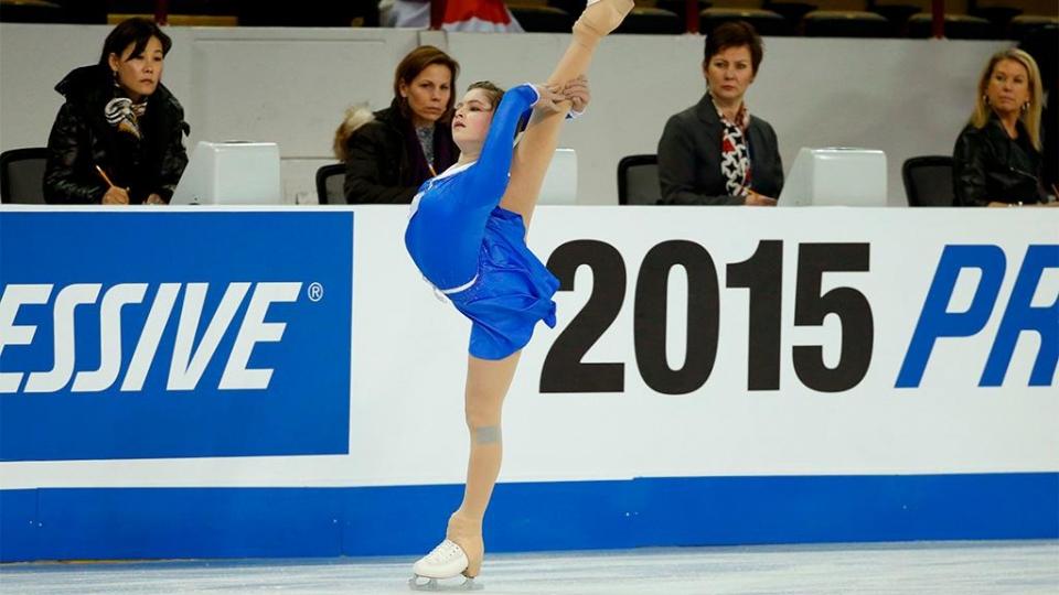 Липницкая получила травму во время выступления на Гран-при России