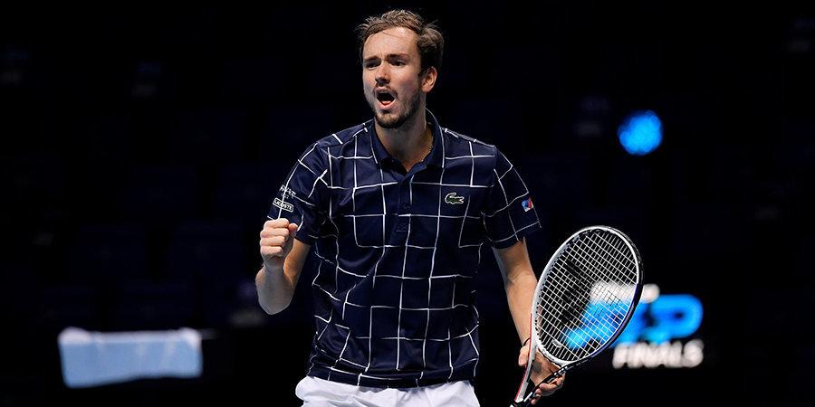 Даниил Медведев сыграет в главном матче ATP Finals. В финал в Лондоне россиянин не пустил Рафу Надаля