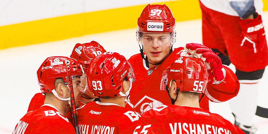 ЦСКА и «Спартак» поменялись домашними играми в КХЛ