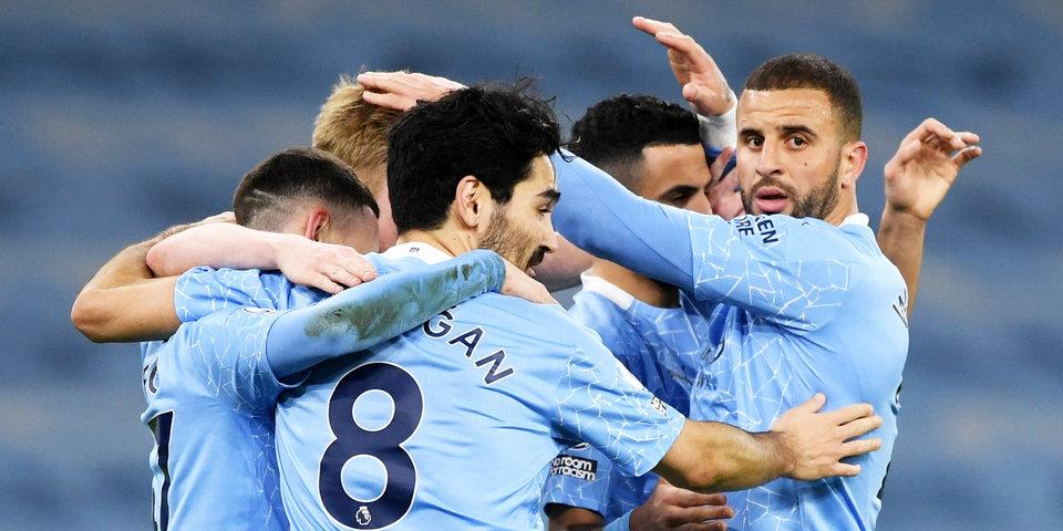 «Манчестер Сити» — единственная команда в ЛЧ, не потерпевшая поражений