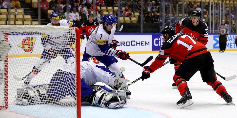 Канадцы забросили 10 шайб корейцам, жители России разгромили наЧМ похоккею Австрию