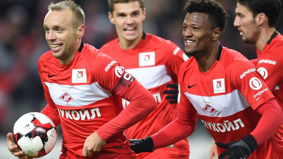 Глушаков – лучший футболист сезона, «Спартак» – лучшая команда