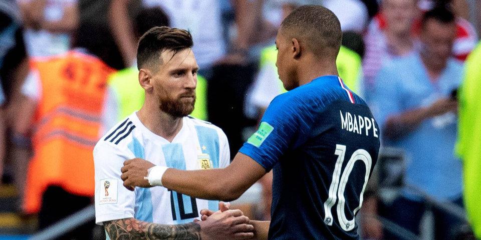 Дубль Мбаппе отправляет Месси домой. Франция - Аргентина: голы и лучшие моменты