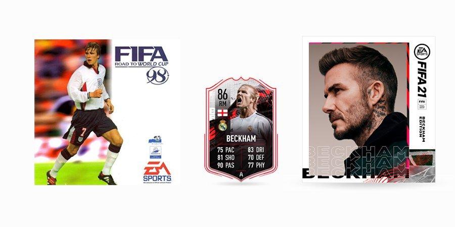 Бекхэм возвращается в FIFA. Экс-игрок «МЮ» и «Реала» попал на обложку симулятора впервые за 23 года