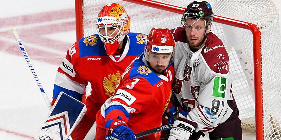 Нападающие не забросили, сборная России проиграла. Все голы матча в Риге